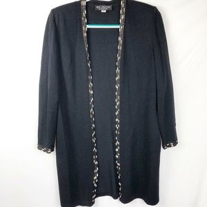 St. John Collection Cardigan sweater Size 4 Long